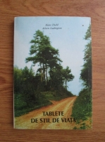 Anticariat: Hans Diehl, Aileen Ludington - Tablete de stil de viata