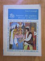 Anticariat: Ion Creanga - Amintiri din copilarie. Povesti si povestiri