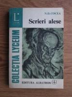 Anticariat: N. D. Cocea - Scrieri alese