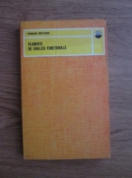 Anticariat: Romulus Cristescu - Elementele de analiza functionala