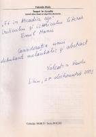 Anticariat: Valentin Radu - Inapoi in Arcadia (cu autograful autorului)