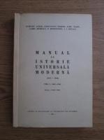 Anticariat: Dumitru Almas - Manual de istorie universala moderna (1642-1848)