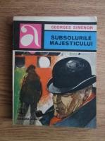 Anticariat: Georges Simenon - Subsolurile majesticului