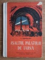 L. Saveliev - Asaltul palatului de iarna (1950)