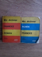 Anticariat: Marcel Saras - Mic dictionar roman-francez, francez-roman (2 volume)