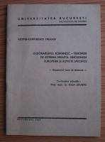 Nitipir Zamfirescu Dragos - Legionarismul romanesc. Fenomen de extrema dreapta. Sincronism european si aspecte specifice