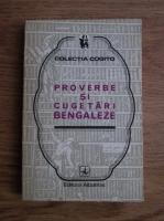 Anticariat: Proverbe si cugetari bengaleze