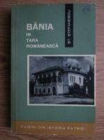 Anticariat: St. Stefanescu - Bania in Tara Romaneasca