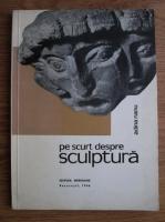 Anticariat: Adina Nanu - Pe scurt despre sculptura