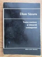 Anticariat: Dinu Sararu - Teatru romanesc si interpreti contemporani