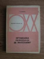 Anticariat: I K Babanski - Pedagogia Secolului XX. Optimizarea procesului de invatamant