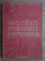 Iacobescu R. Vasile - Tehnica scrierii artistice