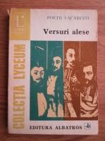 Anticariat: Poetii Vacaresti. Versuri alese