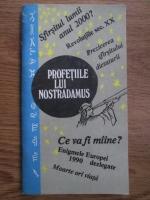 Anticariat: Profetiile lui Nostradamus