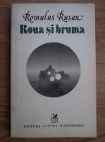 Anticariat: Romulus Rusan - Roua si bruma