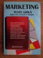 Virgil Balaure - Marketing. Teste grila