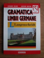 Gerhard Helbig, Joachim Buscha - Gramatica limbii germane