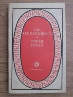 Anticariat: Grigore Alexandrescu - Poezii, proza