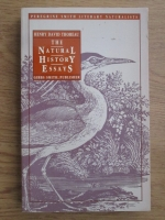 Henry David Thoreau - The natural history essays