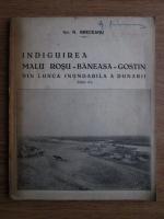 N. Greceanu - Indiguirea. Malul Rosu, Baneasa, Gostin. Din lunca inundabila a Dunarii (1936)
