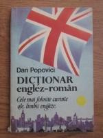 Anticariat: Popovici Dan - Dictionar englez-roman, cele mai folosite cuvinte ale limbii engleze