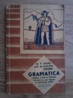 D. V. Toni, Ap. D. Culea, D. Theodosiu - Gramatica pentru clasa a III-a primara