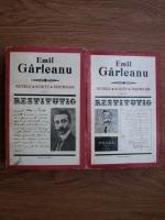 Anticariat: Emil Garleanu - Nuvele, schite, insemnari (2 volume)