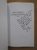 Anticariat: Eugen Dumitru - Decalogul unei blonde (cu autograful autorului)