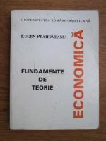 Anticariat: Eugen Prahoveanu - Fundamente de teorie economica (essential economics)