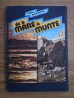 Anticariat: Ion Manta - De la mare la munte