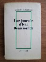 Alexandre Soljenitsyne - Une journee d Ivan Denissovitch