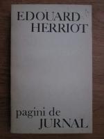 Anticariat: Edouard Herriot - Pagini de jurnal