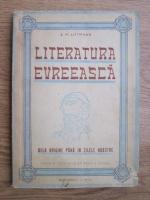 S. M. Littmann - Literatura evreasca de la origine pana in zilele noastre