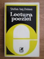 Anticariat: Stefan Augustin Doinas - Lectura poeziei urmata de tragic si demonic