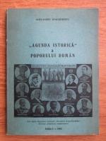 Anticariat: Alexandru Ioachimescu - Agenda istorica a poporului roman