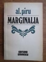 Anticariat: Alexandru Piru - Marginalia