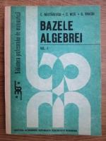 C. Nastasescu, C. Nita, C. Vraciu - Bazele algebrei (volumul 1)