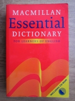 Essential dictionary for learners of english