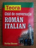 Anticariat: Haritina Gherman - Ghid de conversatie roman-italian