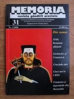 Memoria. Revista gandirii arestate (nr. 31)