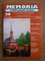 Memoria. Revista gandirii arestate (nr. 38)