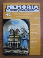 Memoria. Revista gandirii arestate (nr. 42)