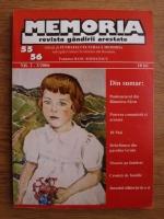 Memoria. Revista gandirii arestate (nr. 55, 56)