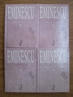 Anticariat: Mihai Eminescu - Opera poetica (4 volume)