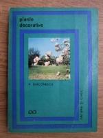 V. Diaconescu - Plante decorative