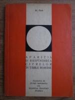 Anticariat: Al. Toth - Aparitia si raspandirea cifrelor in tarile romane