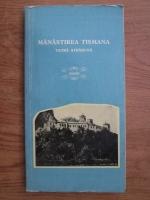Dumitru Balasa, Toma Hrisant -  Manastirea Tismana, vatra strabuna