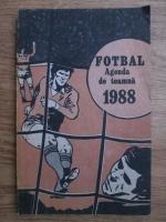 Anticariat: Fotbal, agenda de toamna 1988