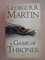 Anticariat: George R. R. Martin - A game of thrones