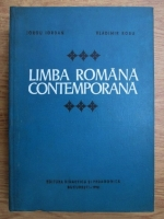 Anticariat: Iorgu Iordan, Vladimir Robu - Limba romana contemporana